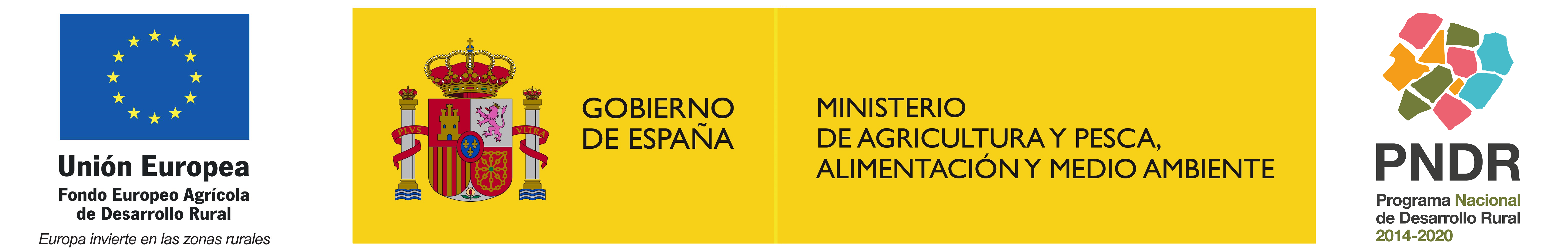 Logos FEADER MAPAMA PNDR